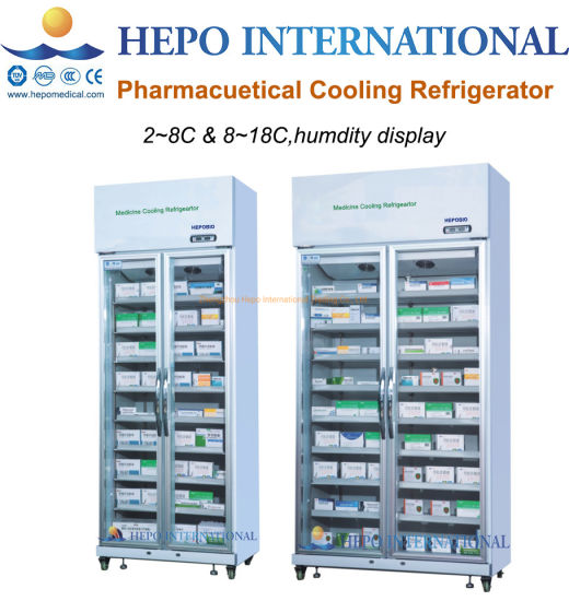 Solution for Clinic Drugstore Medical Cooling Storage Refrigerator with OEM