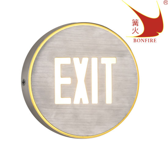 Outdoor Emergency Sign Lamp LED Wall Light SAA RoHS