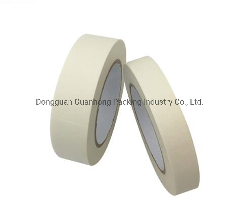 Wholesale White Crepe Paper General Purpose Masking Tape for Painting Masking White/Yellow Color 48mm/36mm/18mm/12mm