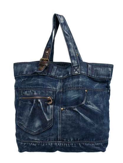 Fashionable Style Women Jeans Beach Tote Bag pictures & photos
