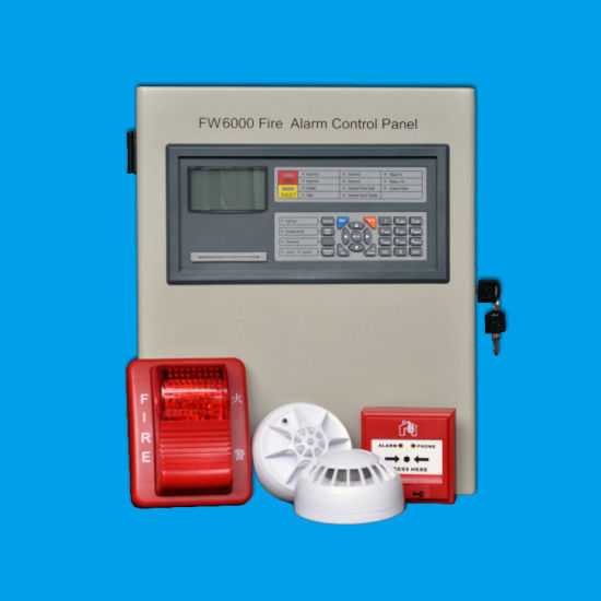 Intelligent Addressable Fire Alarm System for Fire Security Control Panel