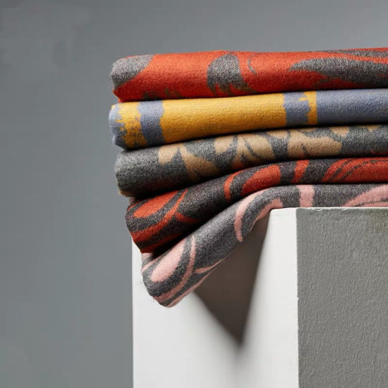 Custom Design Silk+Cashmere Blended Winter Scarf Head Shawl