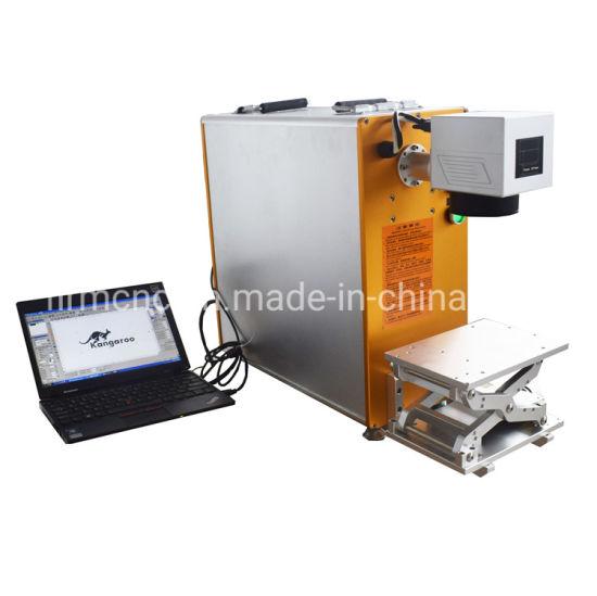 20W Stainless Steels, Metals, ABS, Plastics Fiber Laser Marking Machine