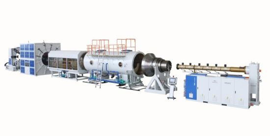 Jwell Large Diameter HDPE Heat Preservation Pipe Plastic Machine/Plastic Recycling Machine