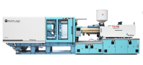 Automatic Threeplast Injection Molding/Moulding Machine / Household Plastic Basket Servo Motor Horizontal Hydraulic Machine