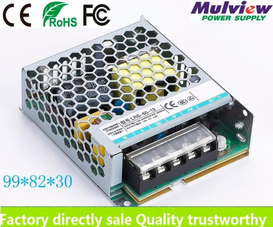 Ultra Thin 12V4a 50W Regulated LED Strip Sensor Soloar Lighting Switching LED Power Supply with Ce RoHS pictures & photos