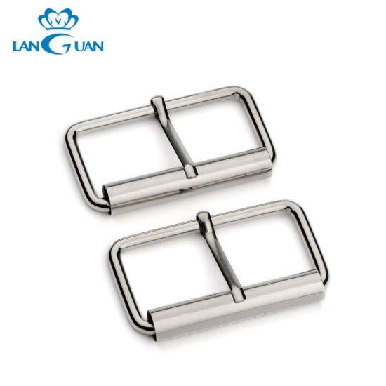 Fancy Gunblack Roller Buckle Single Pin for Handbag Belt