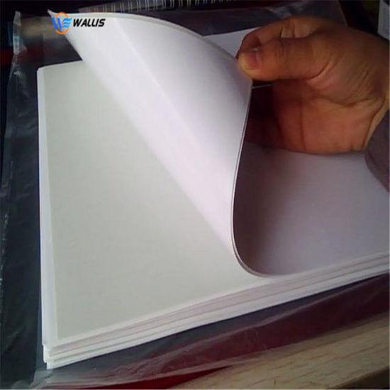 Polycarbonate PVC Film Material Polish White Printable Plastic Roll, Pet Sheet for ID Card Printing