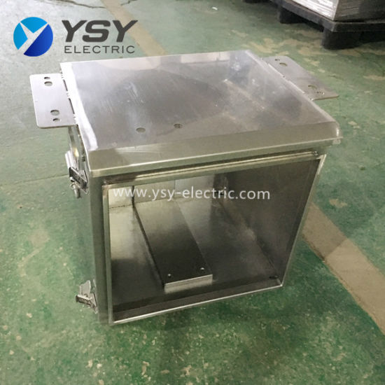 316/304 Stainless Steel Electrical Metal Enclosure Wall Mounted