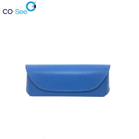 Durable Posh Magnetic Funny Classic Glasses Case Made by Hand Material and Color Can Be Customized