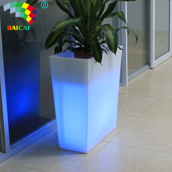 LED Square Plastic Pots Bcg-949V