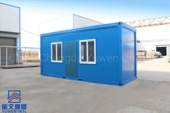 Simple Design in Philippines Low Cost Quick Assembly Container Warehouse