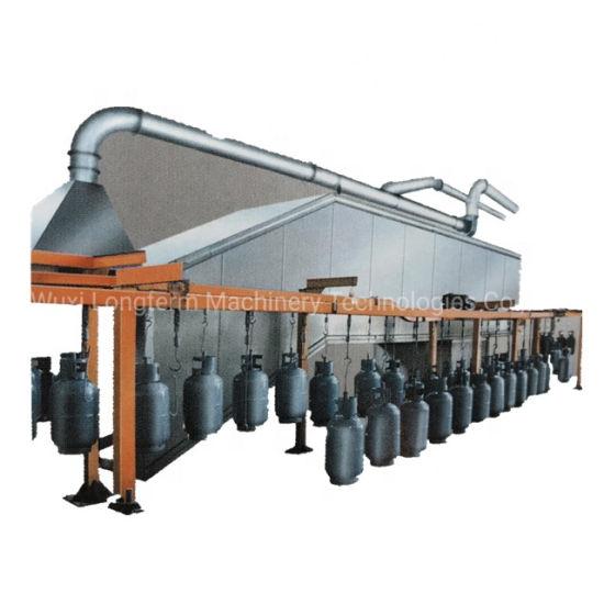 LPG Gas Cylinders Spraying Coating Production Line, Electrostatic Powder Coating/ Spray Painting Machine&