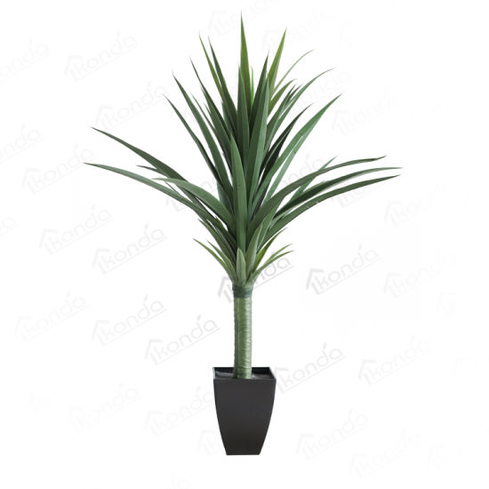 Factory Wholesale Realistic Artificial Large Succulent Plants Agave for Decoration