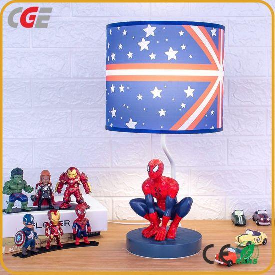 Marvel Spider-Man Lamp Iron Man Captain America Comic Book Wireless Led Lights