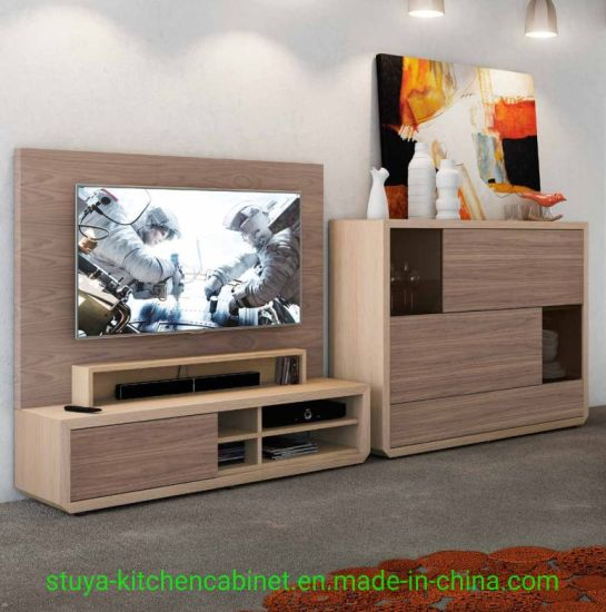 Modern UV Pain Furniture Living Room TV Stand Cabinet Designs, TV Cabinet  Wooden