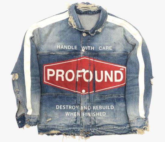 New Fashion Clothing Destroy Washing Blue Denim Jackets