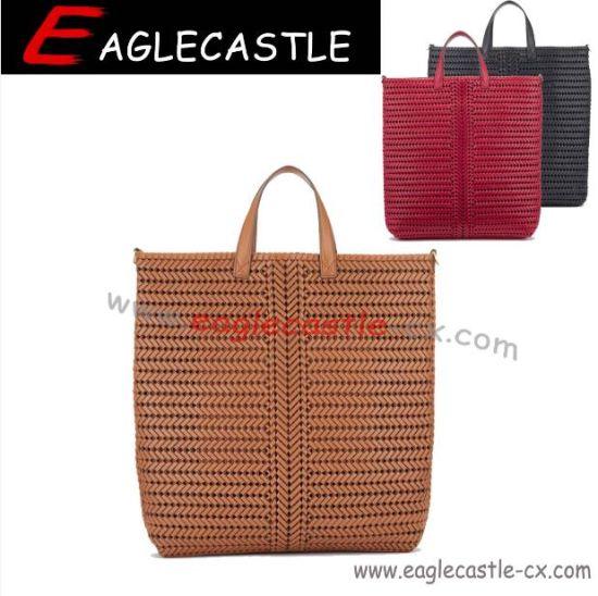 Designer Fashion Handbag/Tote/Travel Bag/Clutch/Hobo Bag/Business Bag / Woven Bag / Messager Bag/ Briefcase / Handmade Bag / Duffel Bag/Sathel Bag (CX19339)