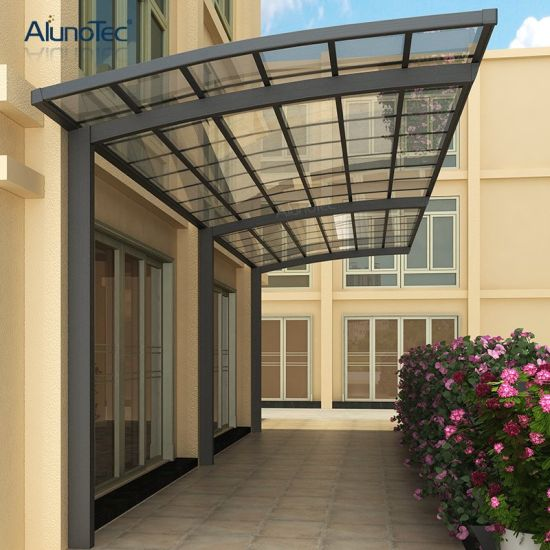 China Aluminum Carport Patio Covers Polycarbonate Canopy Cover Attached To House China Aluminum Carport Patio Covers And Polycarbonate Canopy Cover Price
