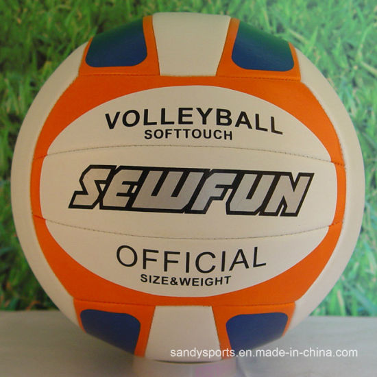 High Bounce Colorful PVC Volleyball From China pictures & photos