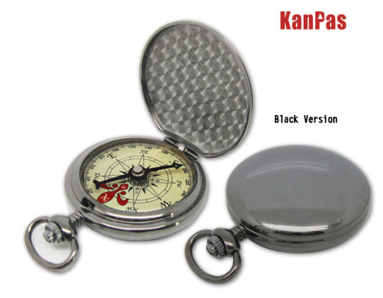 High Quality Metal Pocket Compass with Automatically Opening Lid #N-Z-35 pictures & photos