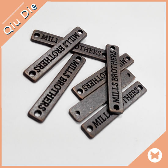 c11eafc2209e China Manufacture Engraved Clothing Metal Labels for Garment - China ...