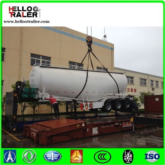 Helloo Trailer Fuwa 3 Axle 40cbm Cement Bulker Trailer pictures & photos