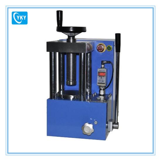 Small Electric Laboratory Hydraulic Press with Built in Hydraulic Pump