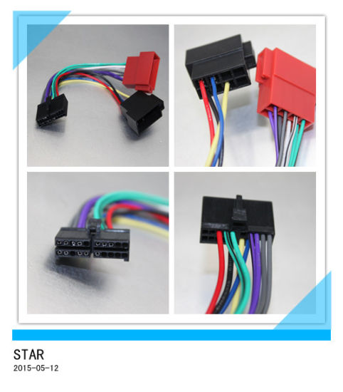 china cable adapter for jensen parrot 10 pin automotive iso wire rh starconnect en made in china com