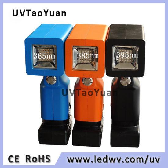 365nm/385nm/395nm 50W UV LED Handheld Lamp