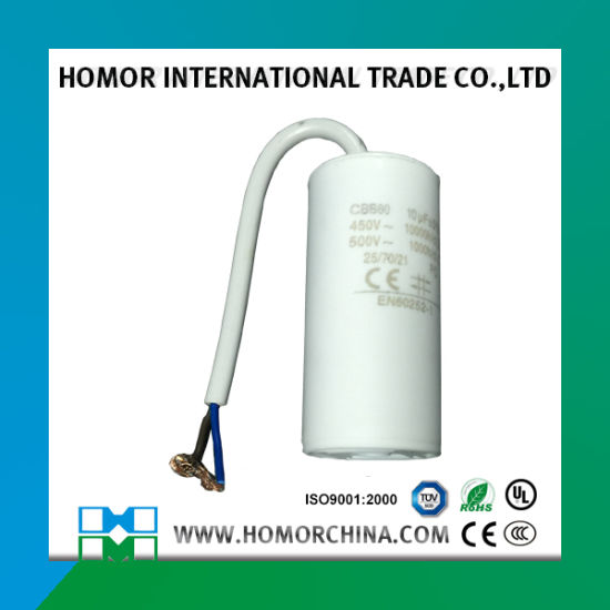 China Cbb60 Pump Capacitor 120UF 250VAC Sh 25/70/21 - China