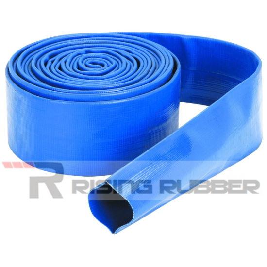 12 Inch PVC High Pressure Flexible Layflat Water Hose