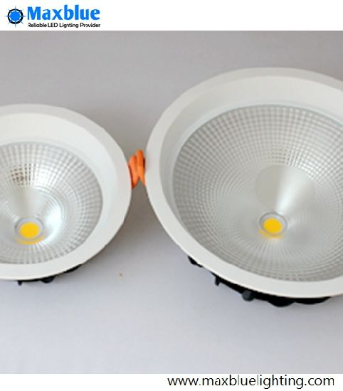 Large Angle 75degree Dimmable COB LED Ceiling Downlight 20W