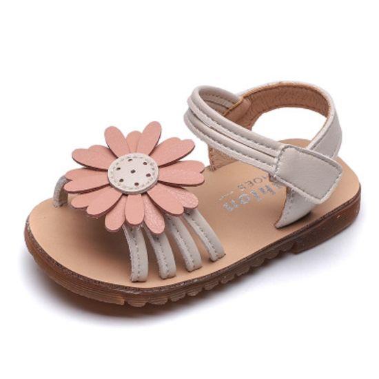 China Baby Girls Sunflower Sandals