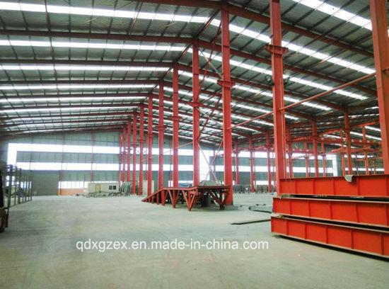 Prefab Storage Structure/Fast Assemble Prefab Steel Structure Warehouse (JW-16249)