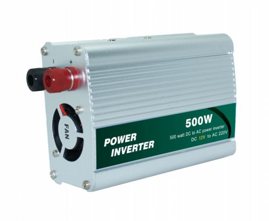Portable 500W DC to AC Car Power Inverter (QW-500MUSB) pictures & photos