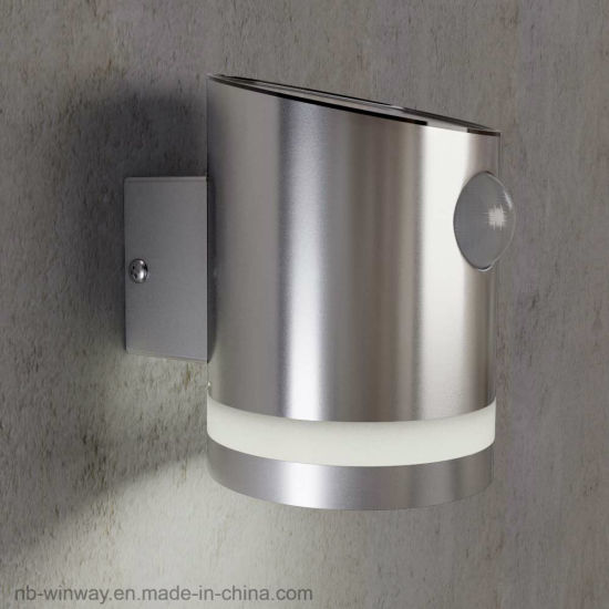 Stainless Steel Truro Solar Outdoor Motion Wall Light