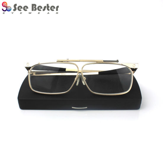 Slimfold Slim Fold Metal Folding Reading Glasses Eyewear Optical Frames with ABS Case