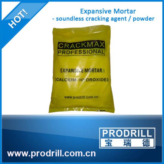 Soundless Non-Explosive Stone Cracking Powder for Granite