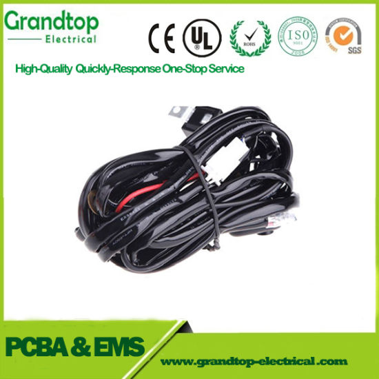 Pleasing China Custom Cable Assembly Wire Harness For Led Motorcycle Wiring Digital Resources Helishebarightsorg