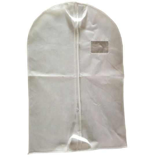 Non Woven Suit Cover with Clear Name Card Window pictures & photos