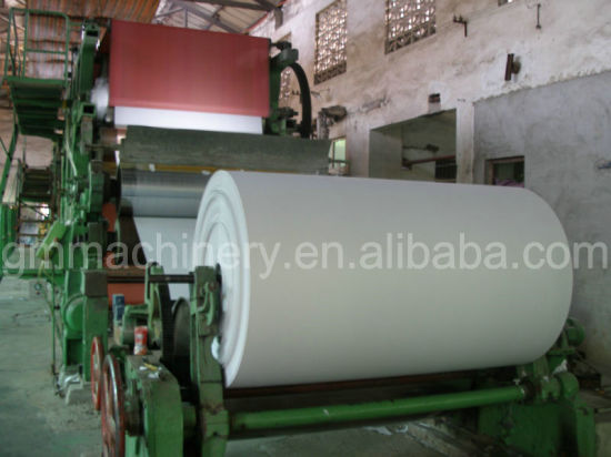 High Quality 2400mm Copy Paper/Exercise Paper/Offset Printing Paper Machine