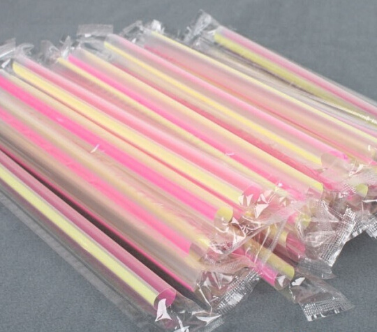 Single PCS Drinking Straw Wrapping Machine pictures & photos