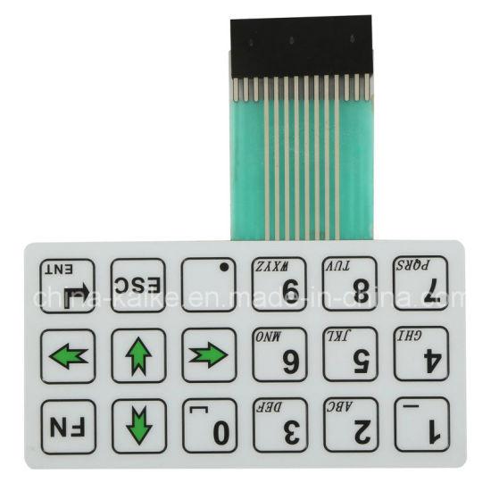 Matrix Keyboard 3X3 Matrix Membrane Switch PCB Membrane Keypad Switch