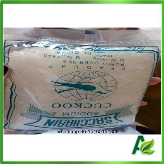 High Purity Sweeteners Type Sodium Saccharin Manufacturer for Cuckoo Brand