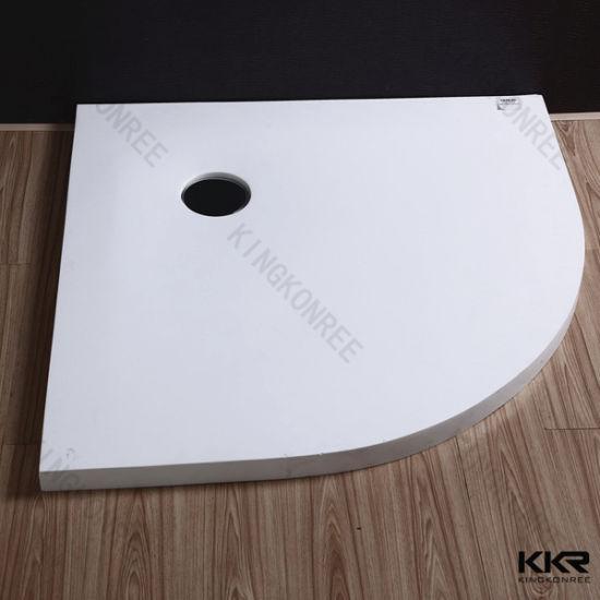 Stone Resin Shower Trays, Corner Shower Tray for Bathroom