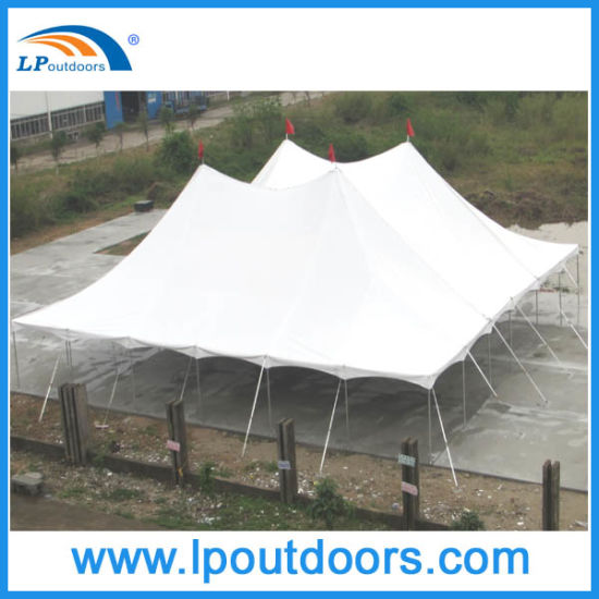 China 60′ Width Steel Pole Party Marquee Wedding Tent - China ...