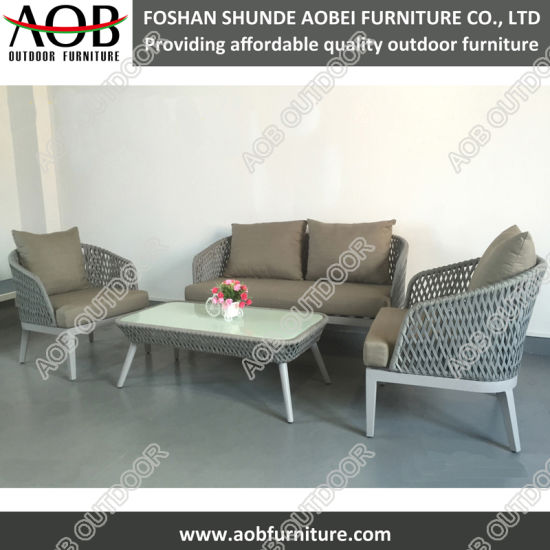 china home garden patio outdoor furniture rope woven living room rh aobfurniture en made in china com patio outdoor furniture sets patio outdoor furniture covers