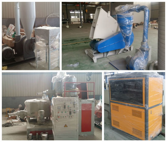 PVC Foam Board Extrusion Production Line (SJSZ80X156) pictures & photos