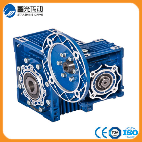 Nmrv Series Double Worm Gearbox with Aluminum Body pictures & photos